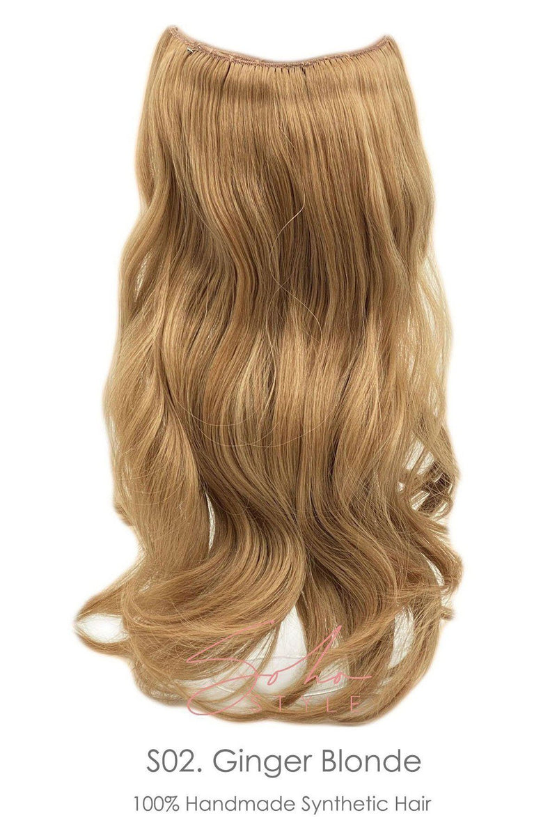 "Isabella 13"" Clip-In Futura Hair Extension Hair Extension Soho Style"