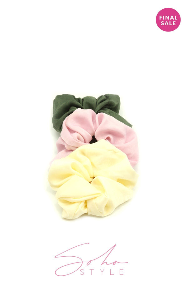 HAIR SCRUNCHIE SETS acc Sale