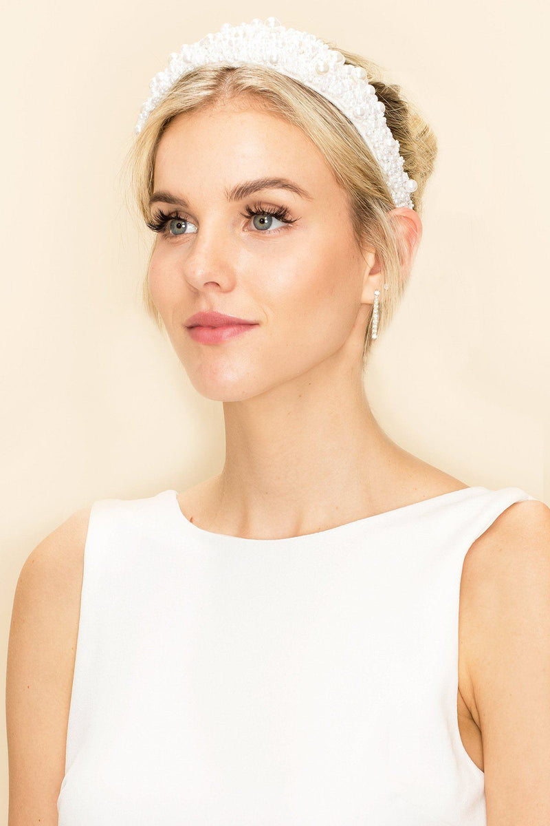 ZOEY PEARL HEADBAND Wedding Sale