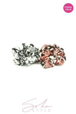 2PCS Scrunchie Set Hair acc Sale