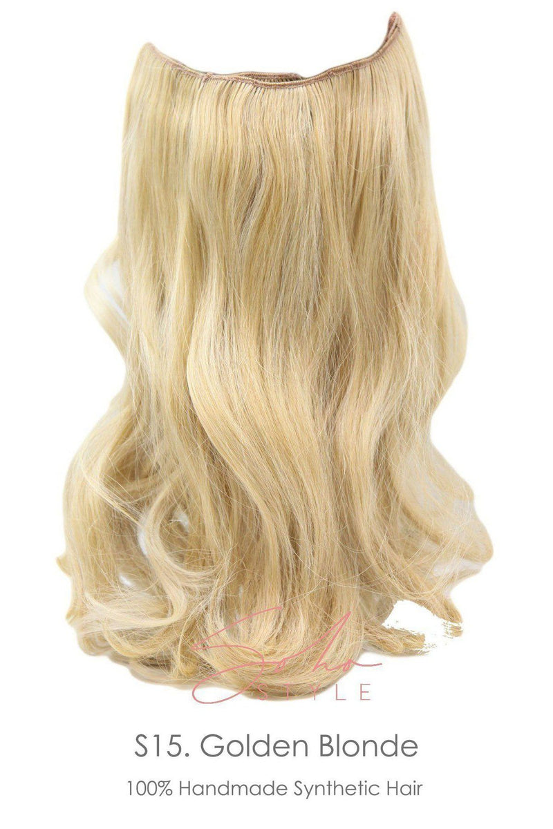 "Allison - 16"" Clip-In Futura Hair Extension Set Hair Extension Soho Style"