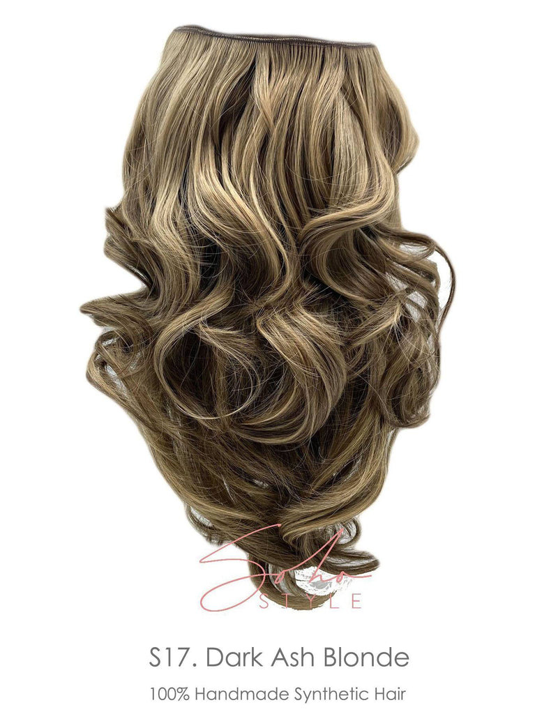 "Special Value Set - Aura Invisible Wired (Halo) FUTURA Hair Extension Available in 15"" + 19"" set Hair Extension Sale"