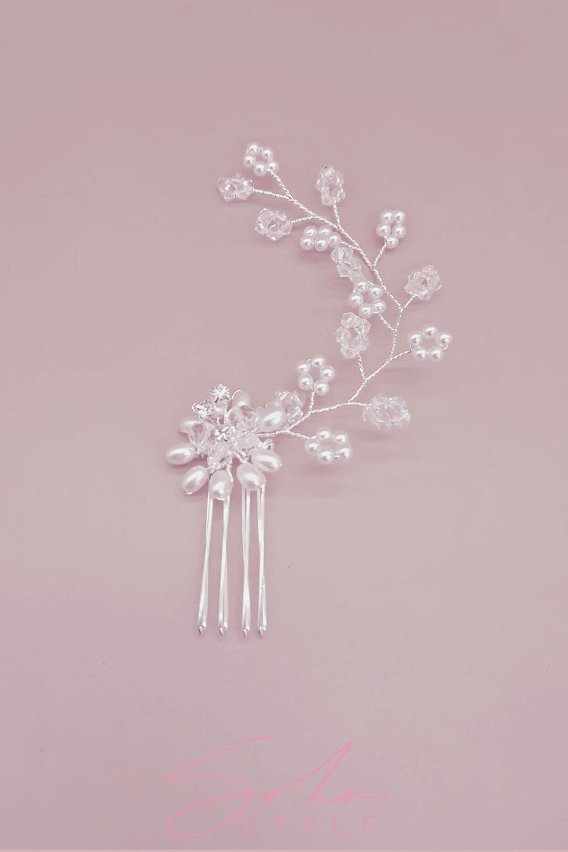 Heavenly Pearl Branch Comb Wedding Sale