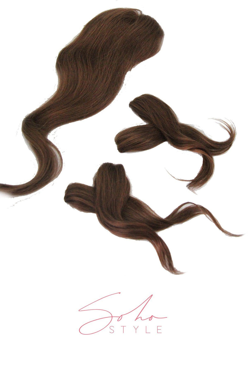 "Special Value Set - Tiara 18'' Remy Human Hair + Ali 12"" Clip-in Remy Human Hair Set Hair Extension Sale"