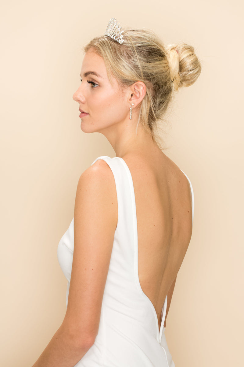 SIERRA CRYSTAL HAIR CROWN Wedding Sale