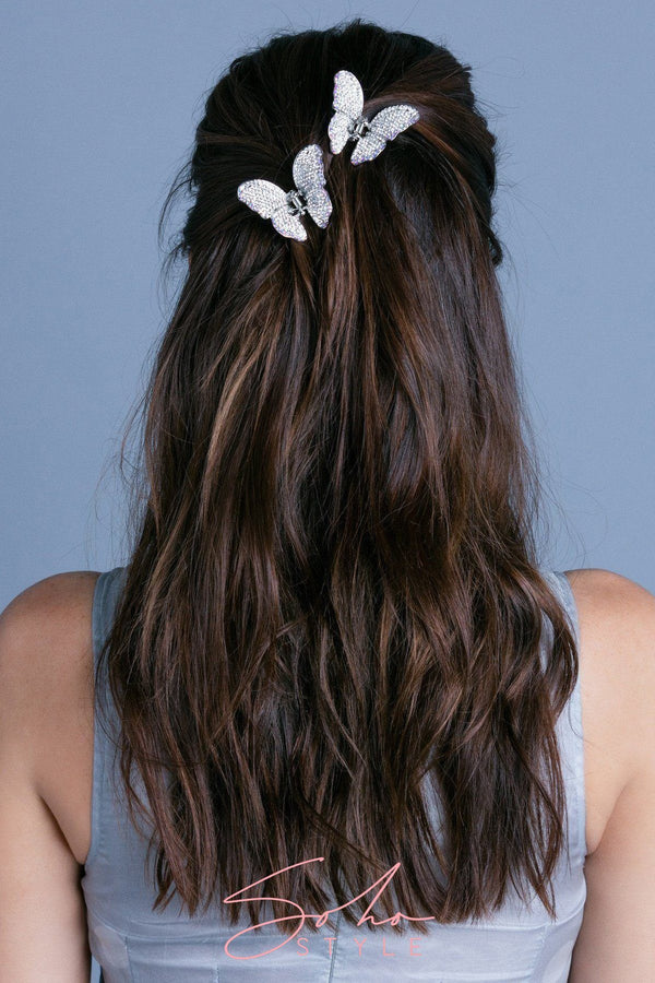 Ombre Crystal Butterfly Jaw Hair Jaws Soho Style