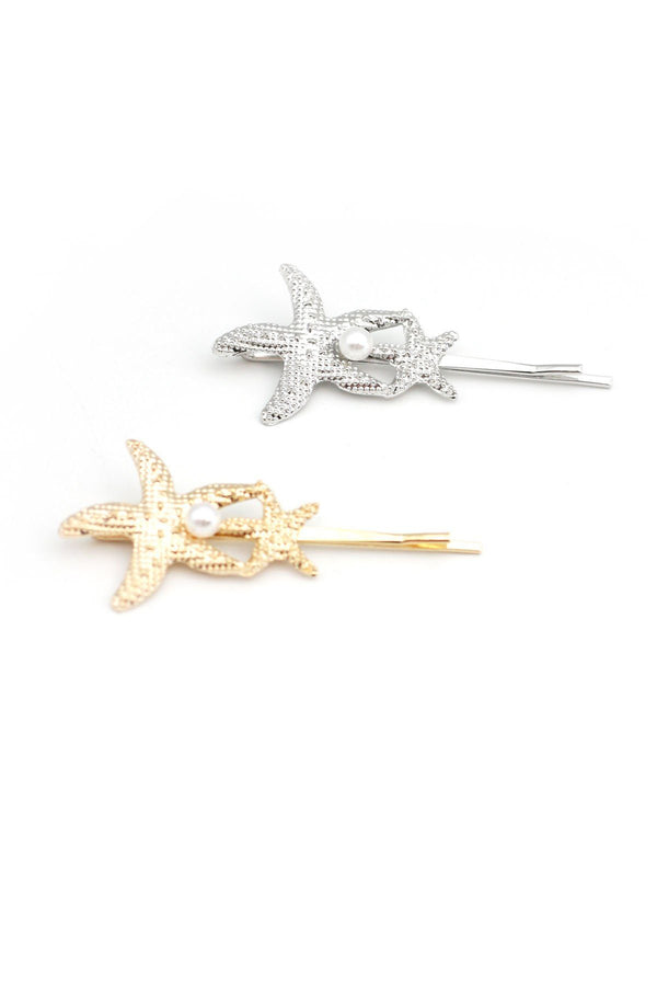Twin Starfish Bobby Pin Bobby Pins 2019