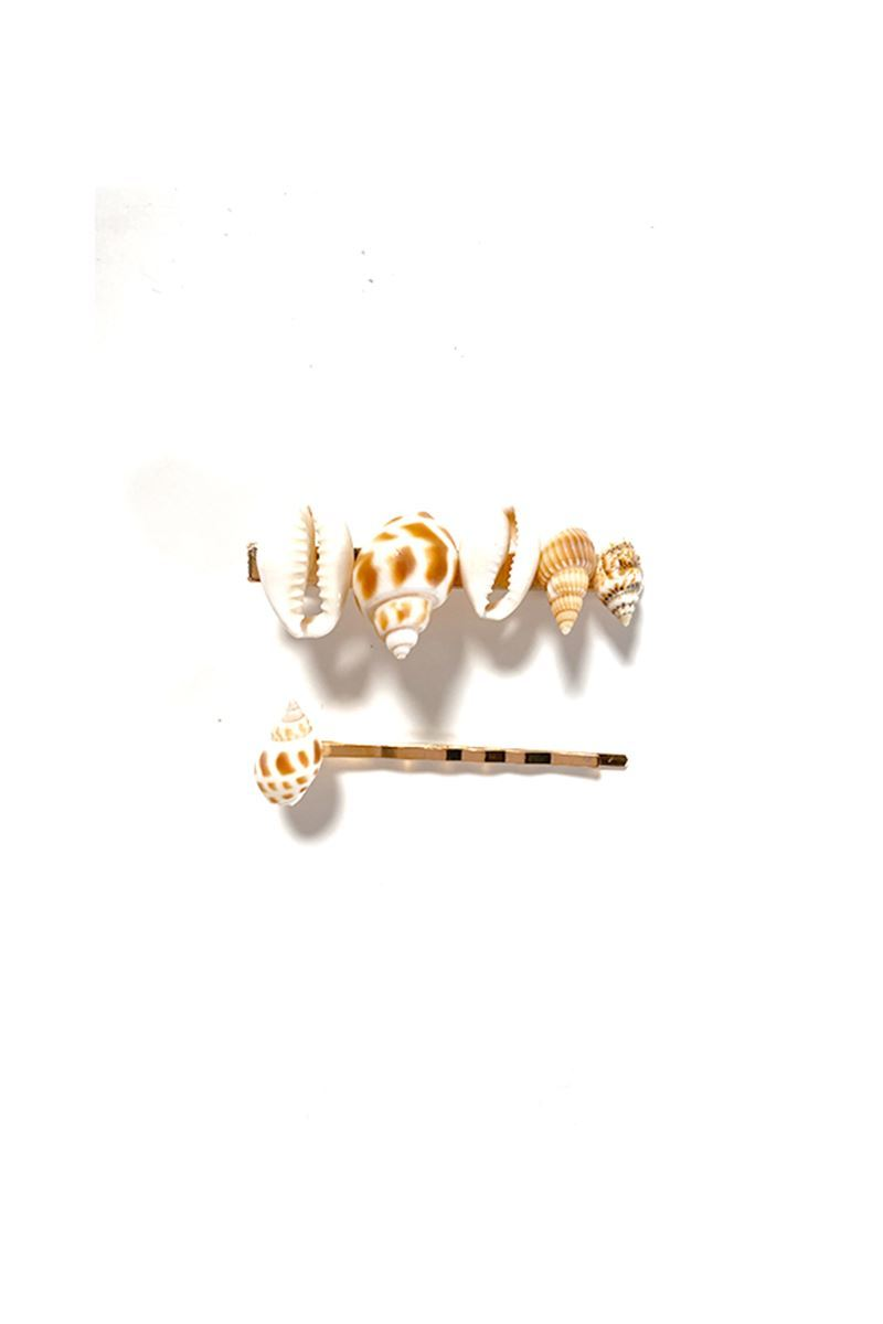 Seashell Bobby Pin Duo - Soho Style