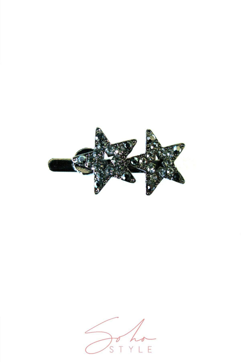TWIN STAR MAGNETIC BARRETTE Barrette 2020