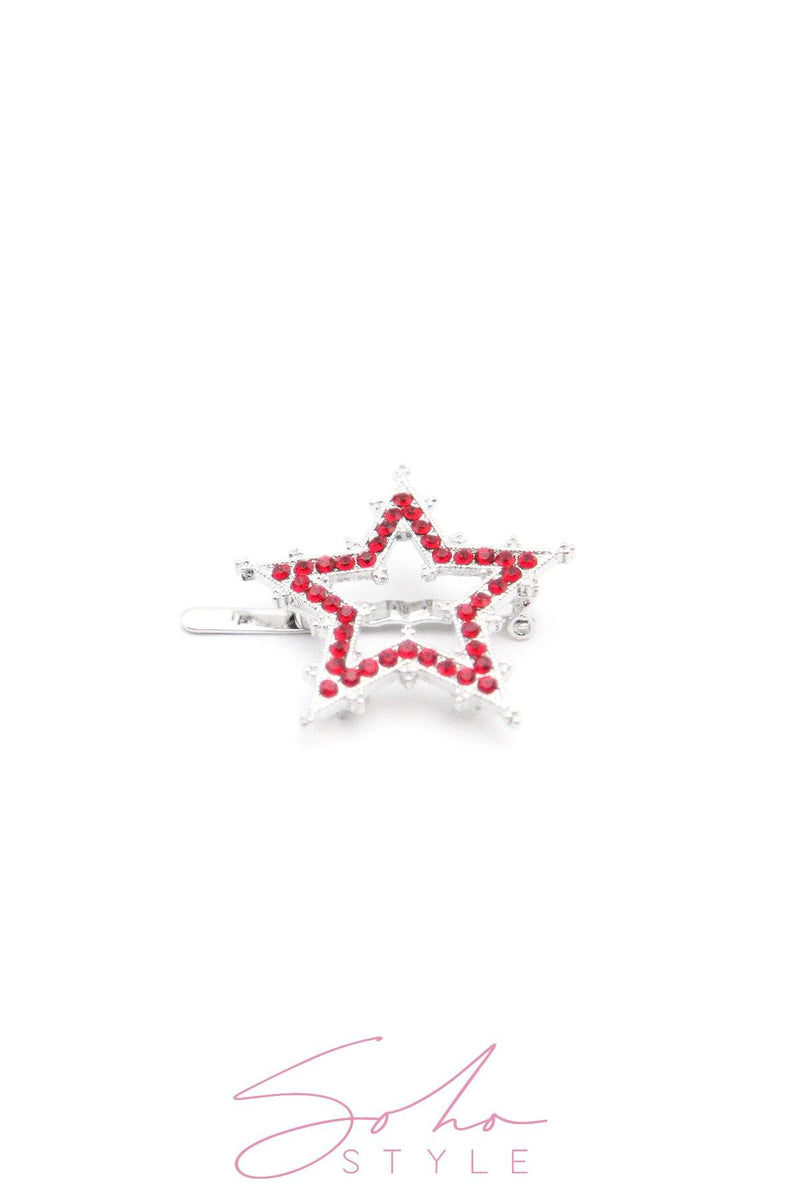 STAR MAGNETIC BARRETTE Barrette 2020