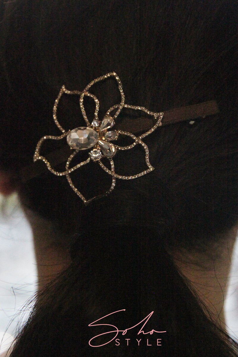 Blooming hair clip Hair Accessorie AC70067