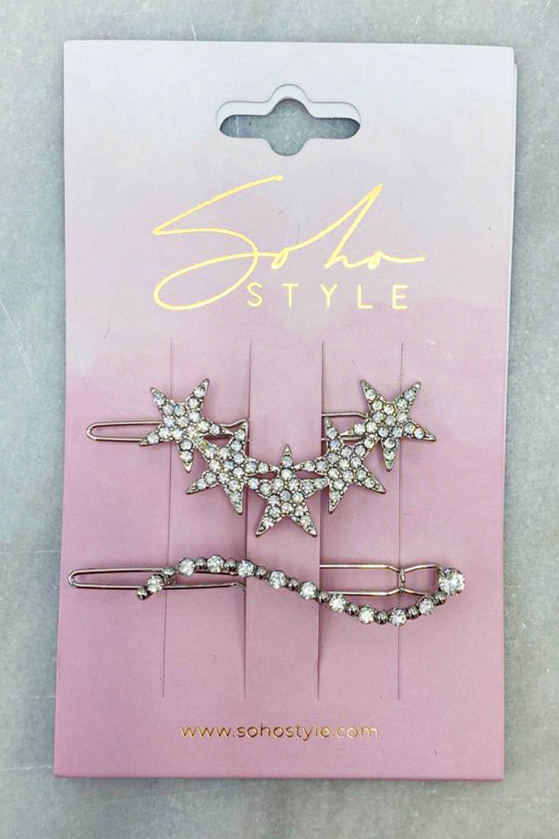 Stardust Crystal Hair Set Barrette 2019