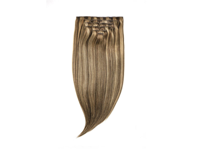 "Seven Sisters Clip-In Hair Extensions Set Available in 15"" 18"" & 22"" - Soho Style"