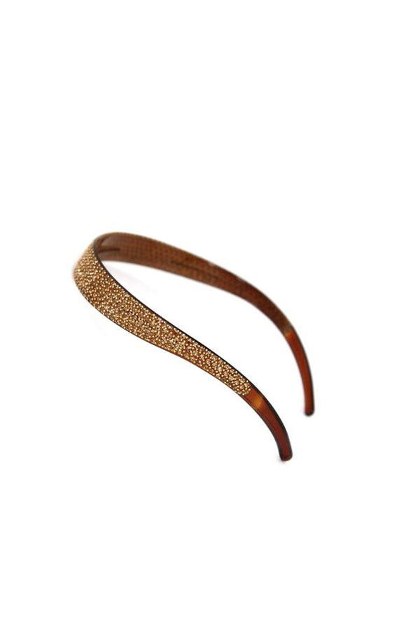 Lightweight Crystal Covered Headband Headband Soho Style