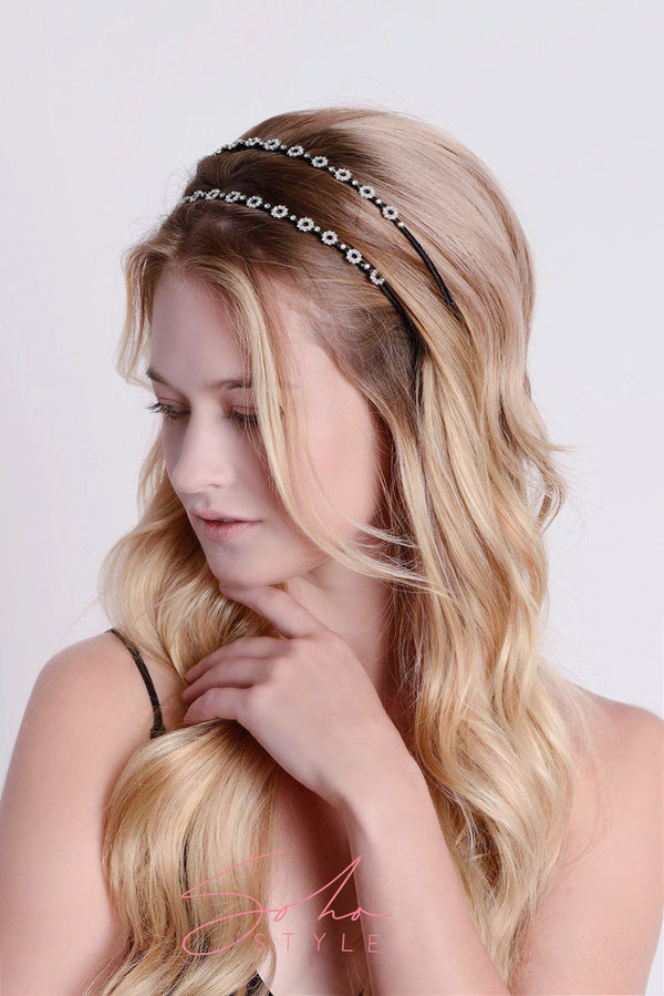 Midnight Sparkle Crystal Headband Headband 2020