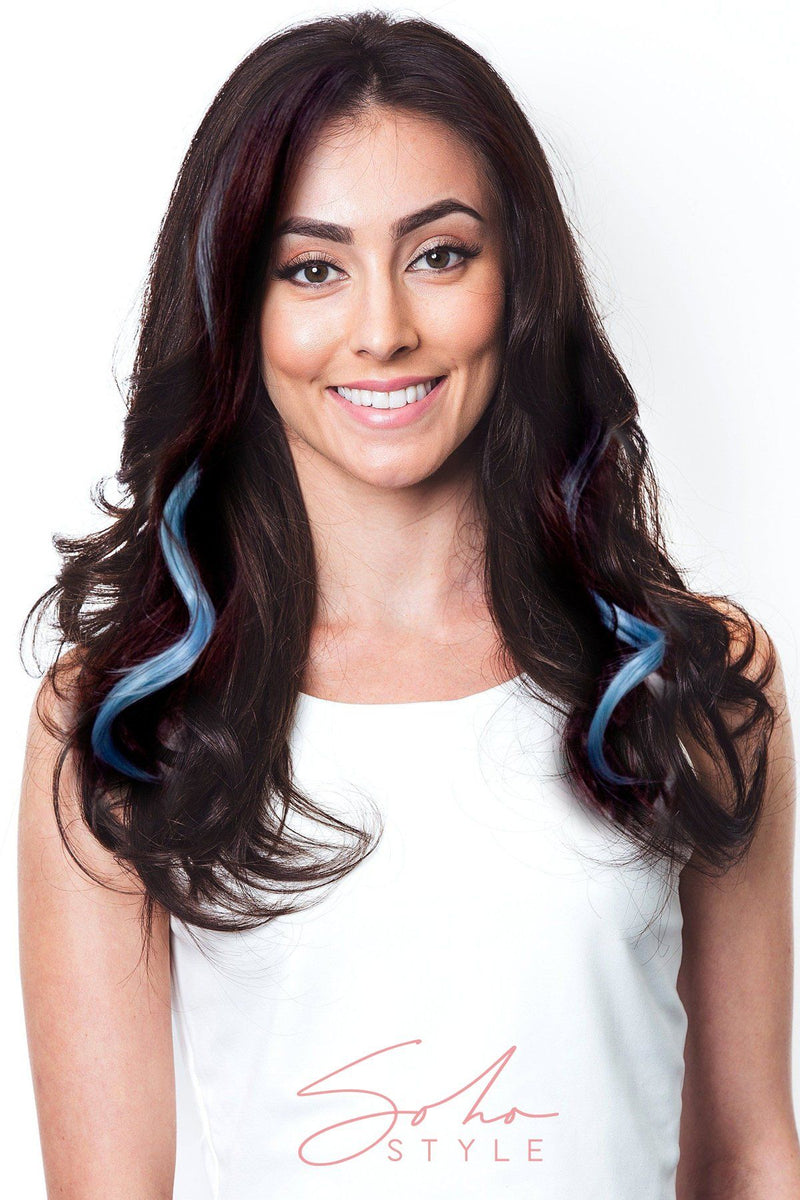 Highlight Color Clip Extensions Set Hair Extension Soho Style