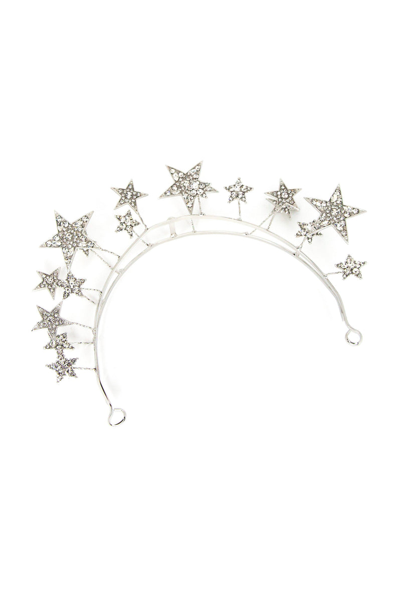 Silver Lining Star Hair Crown