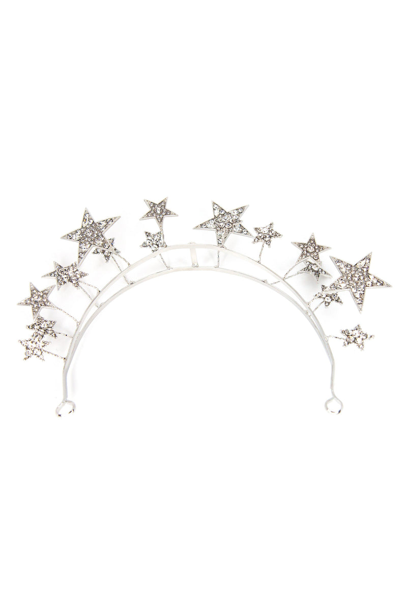 Silver Lining Star Hair Crown Headband 2019