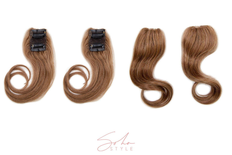 "Ali 12"" Clip-In Ramy Human Hair Light Volume Extension Set Hair Extension Soho Style"