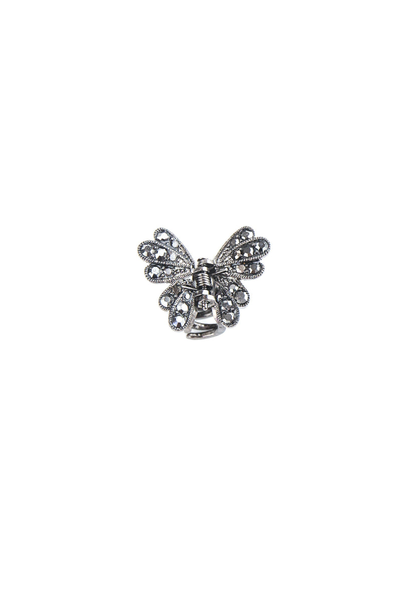 Mini Metallic Butterfly Hair Jaw (Pair) Sale Soho Style