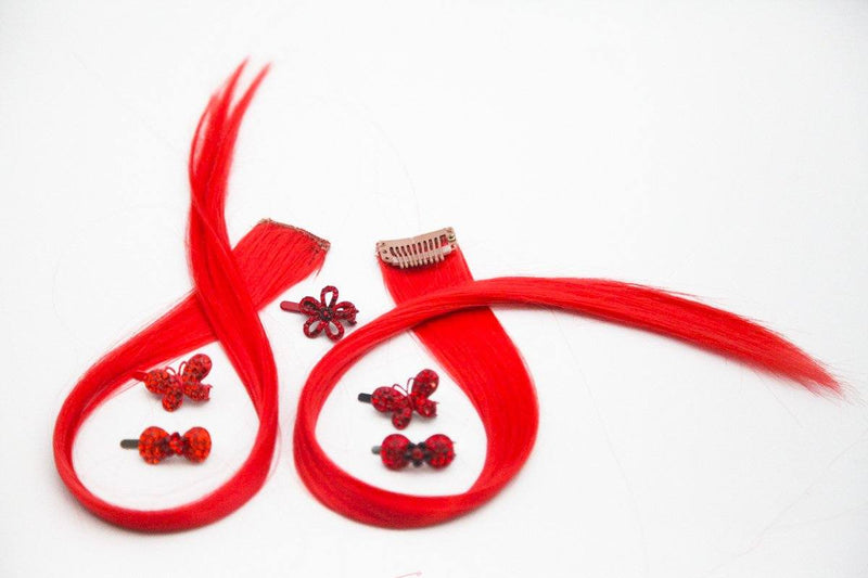 Hair Highlight and 5PCS Mini Magnet Barrette Set Sets sale