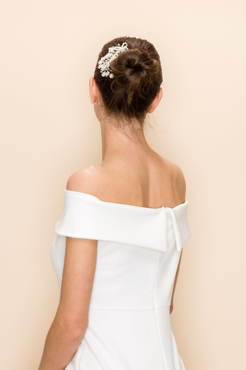 CHRISTELLE PEARL HAIR COMB Wedding Sale