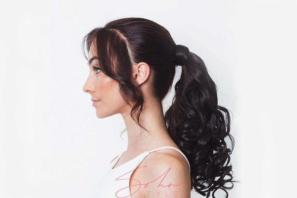 "Miley - 18"" Futura Curly Wrap-Around Ponytail Extension Hair Extension Sale"