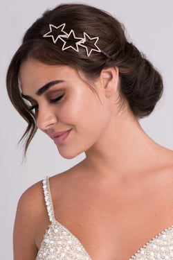 Rhinestone Star Trio Headband