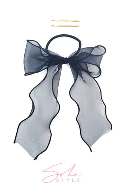 Black Friday - Chiffon Wire-Bow and Pop Mini Bobby Pin Set Special