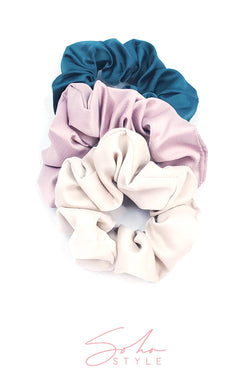 Hair Super Scrunchie Set Hair Accessorie Soho Style