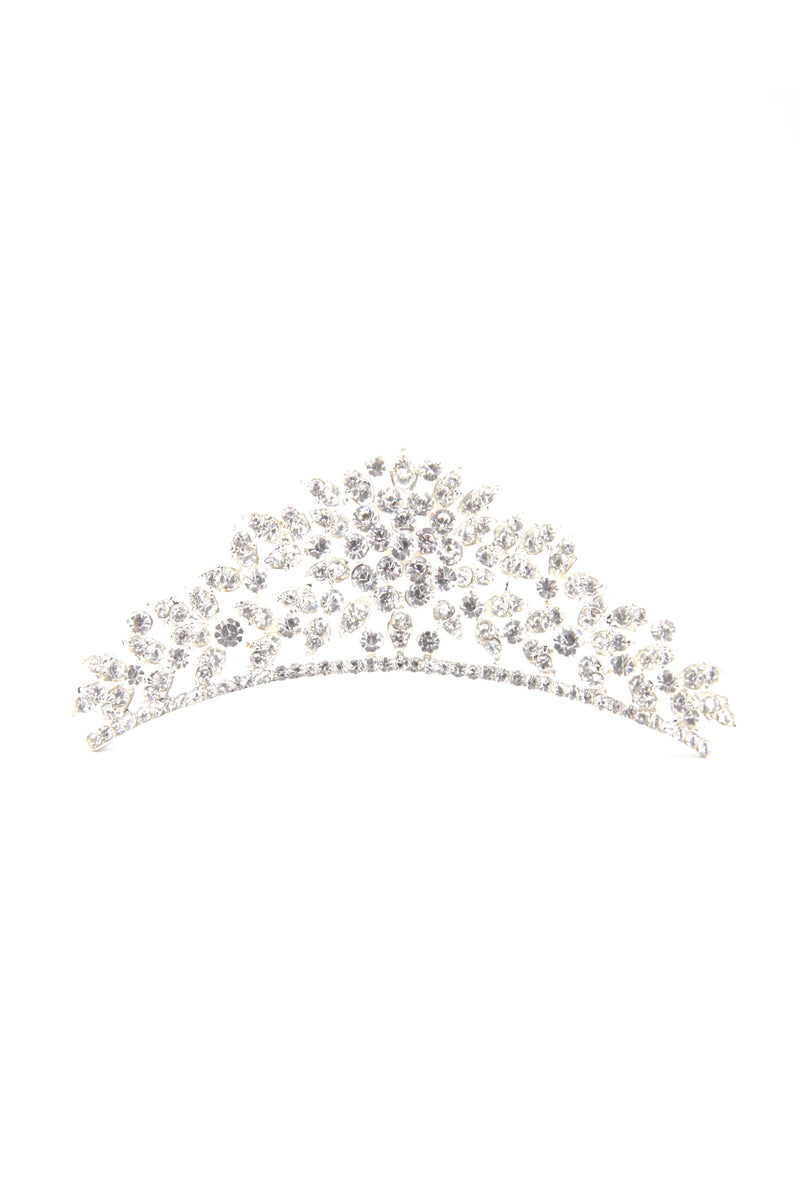 Crystalline Flower Tiara Wedding Sale