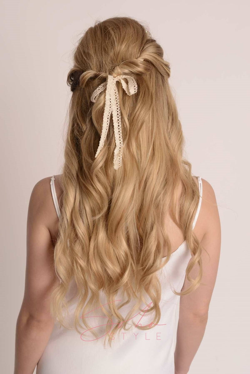 Jeslyn Crystal Hair Crown Wedding Soho Style