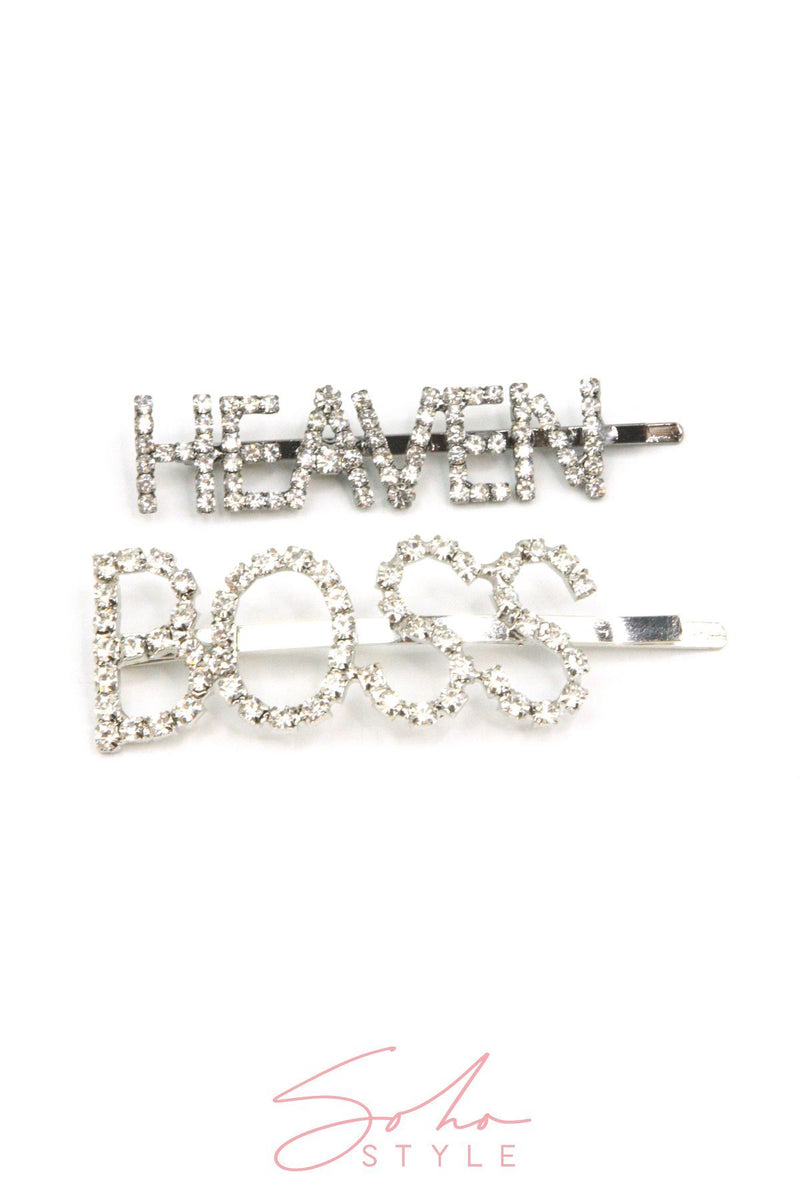 Make a Statement Rhinestone Bobby Pin Hair Accessorie Soho Style
