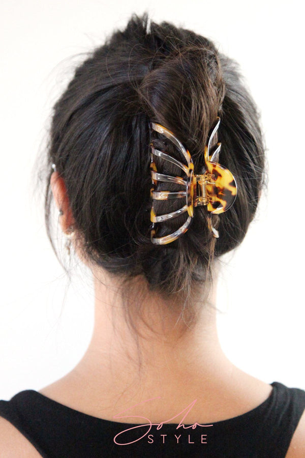 Tortoise shell French hair jaw Hair Accessorie ACUS45