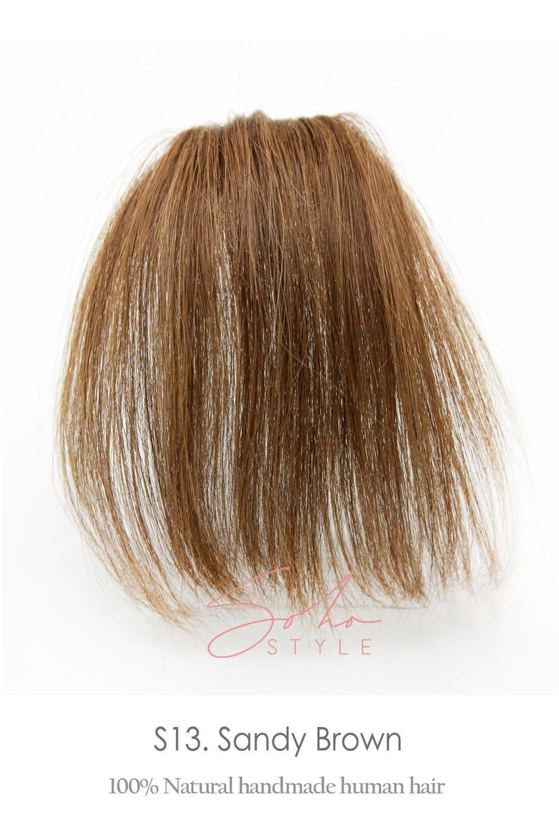 Human Hair Clip-In Sheer Bang Extension Hair Extension Sale