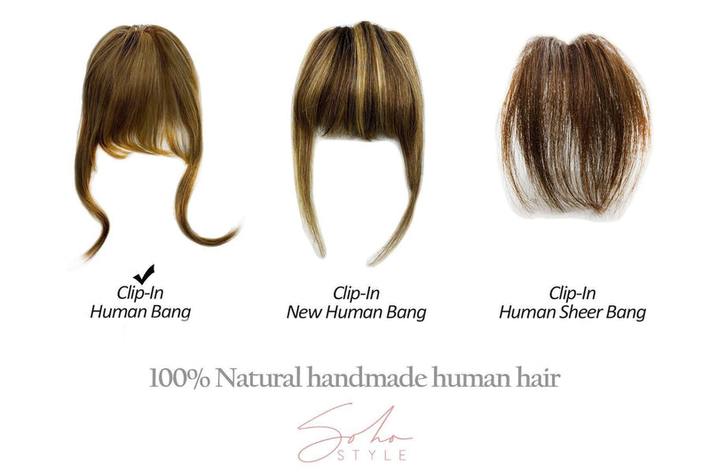 Human Hair Clip-In Bang Extension Hair Extension Sale