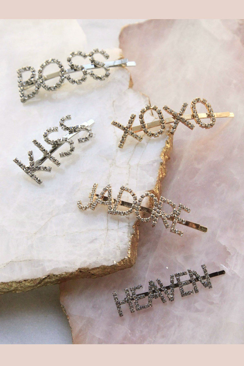 Black Friday - Make a Statement Rhinestone Bobby Pin Special