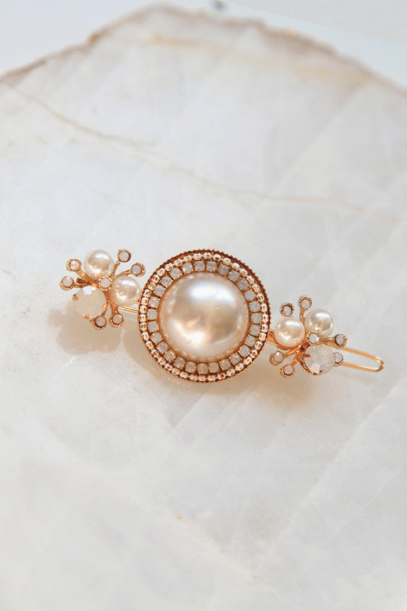 Luxe Pearl Statement Barrette