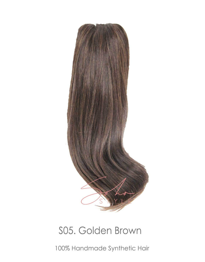 "Susan - 16"" Futura Wavy Jaw Clip-In Ponytail Extension Hair Extension Sale"