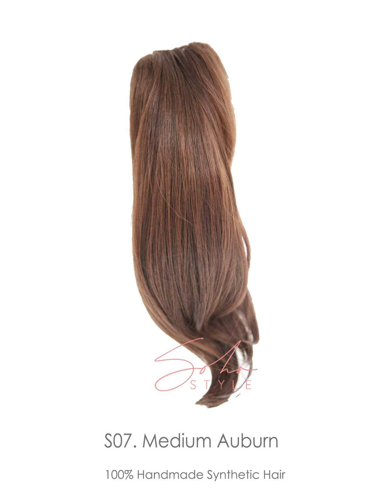 Meghan - 18'' Futura Jaw Clip-In Ponytail Extension Hair Extension Soho Style