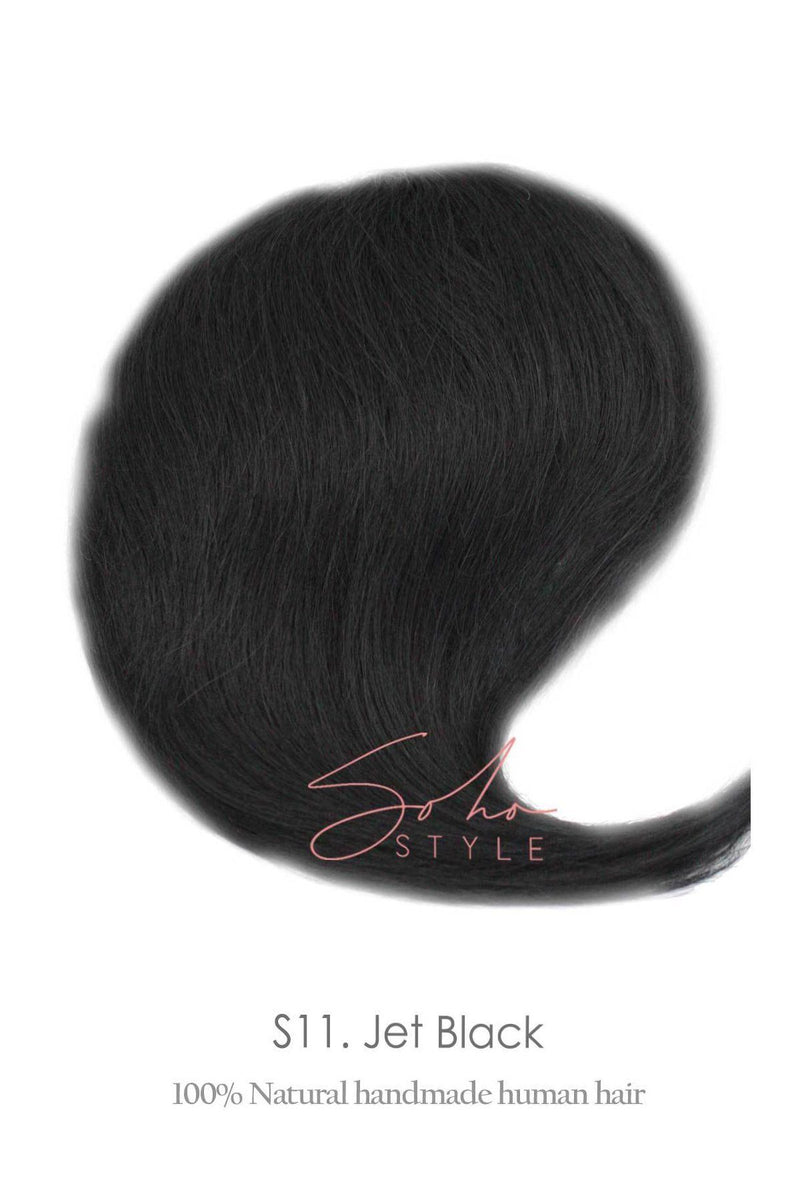 "Angela - 12"" Human Hair Volume Topper Extension Hair Extension Sale"
