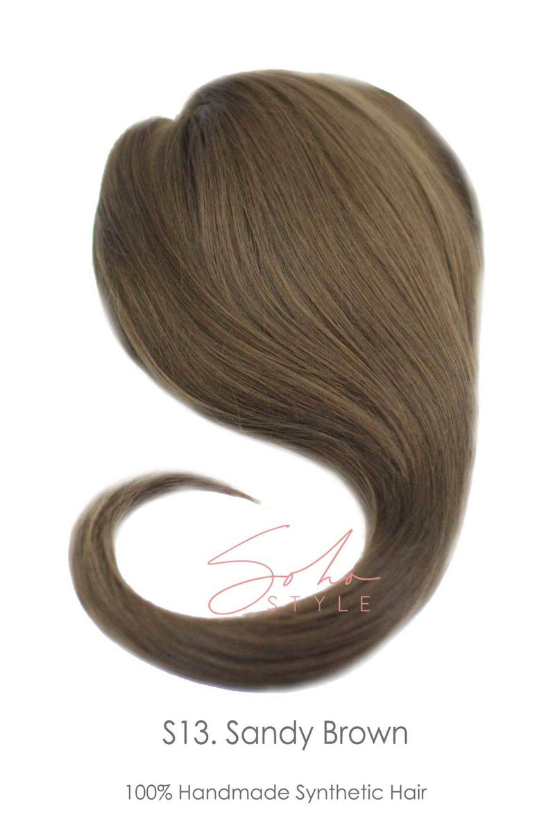 "Loni - 20"" Synthetic Top Piece Hair Extension Hair Extension Sale"