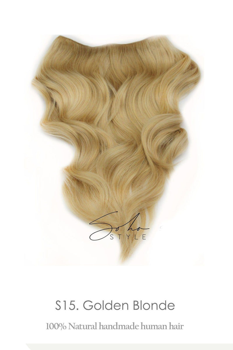 "Aura 14""& 20"" , Ali 6pcs, Godiva - Luxury Long Volume Topper Remy Human Hair Extension Hair Extension Sale"