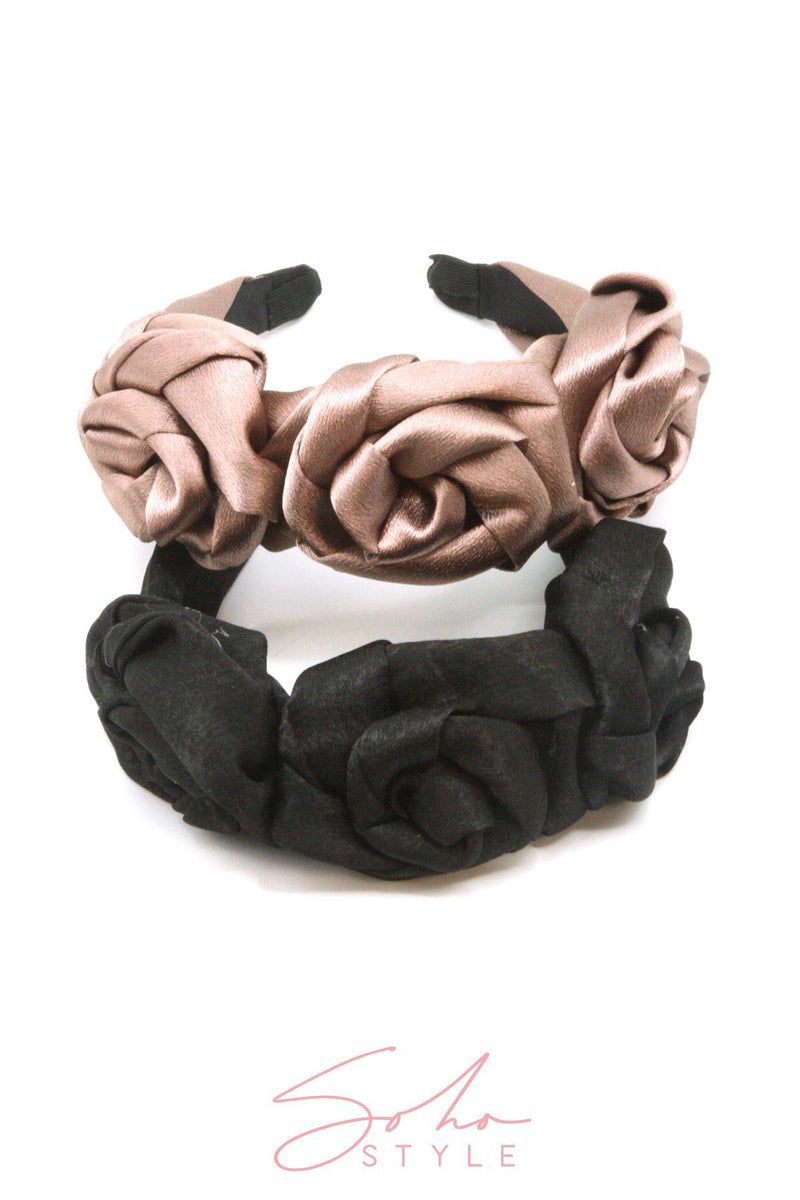 Black Friday - Satin Rose Crown Set Special