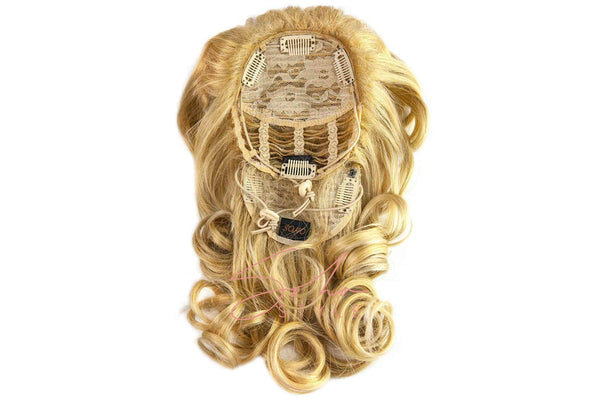 Sarah - 18'' Synthetic Hair Top Piece Hair Extension Hair Extension Soho Style