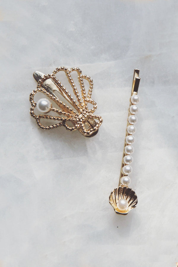 Mermaid Hair Clip and Bobby Pin Set