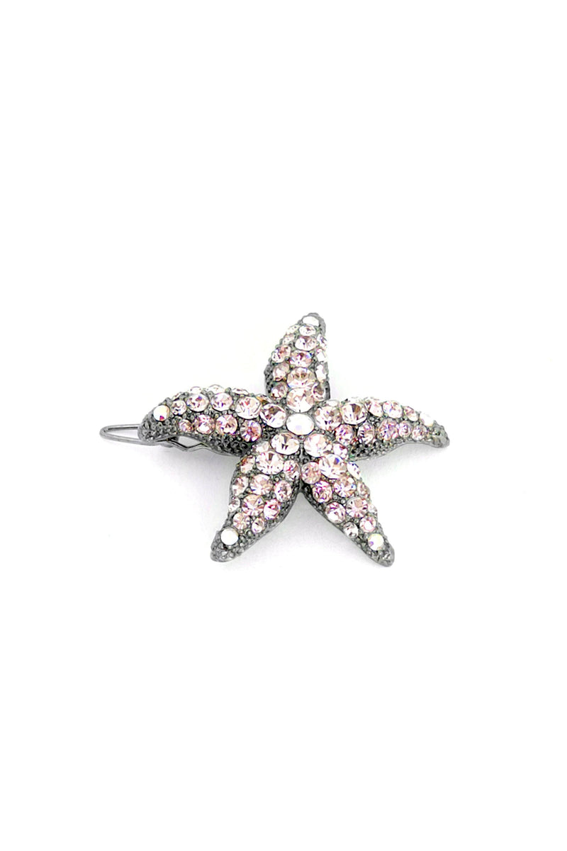 Soho Style Barrette Aqua Small Starfish Barrette