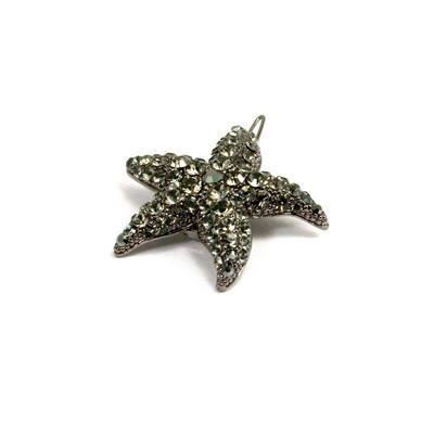 Soho Style Barrette Black Small Starfish Barrette
