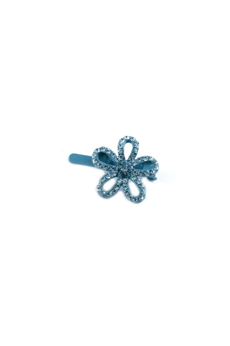 Soho Style Barrette Clear Mini Flower Barrette