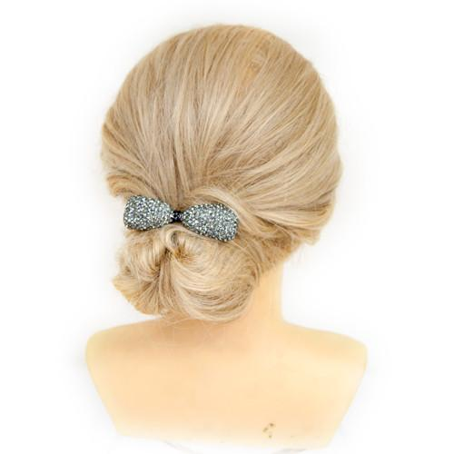 Glam Bow Barrette -  Barrette, Soho Style